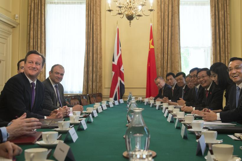 China UK meetings