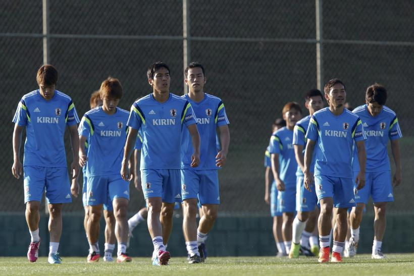 Japan National Team World Cup 2014