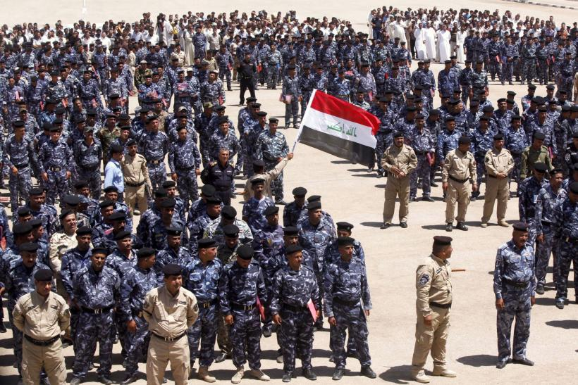 Iraqi volunteers