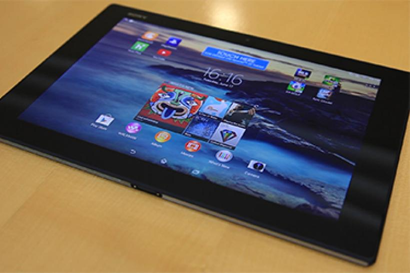 The Sony Xperia Z2 Tablet