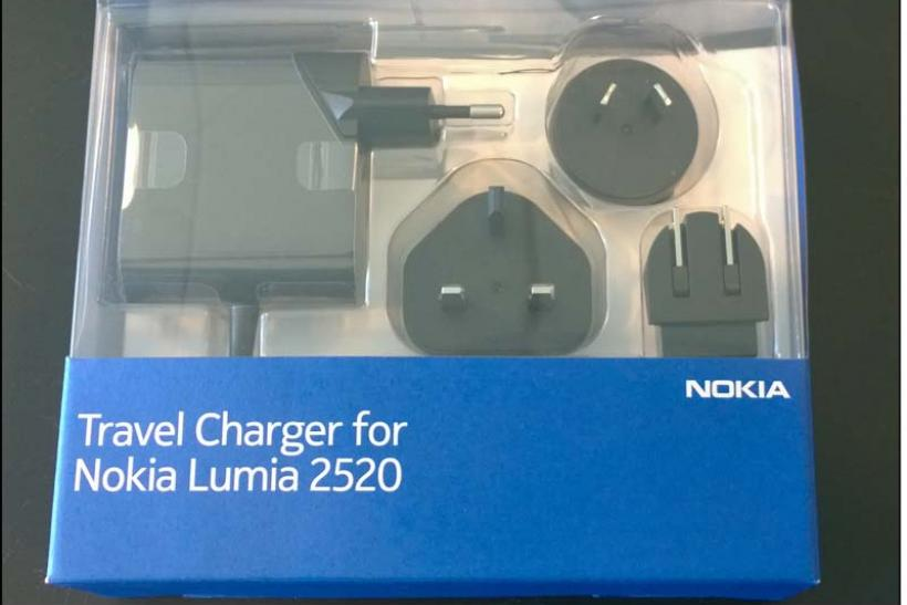 Travel charger for Nokia Lumia 2520