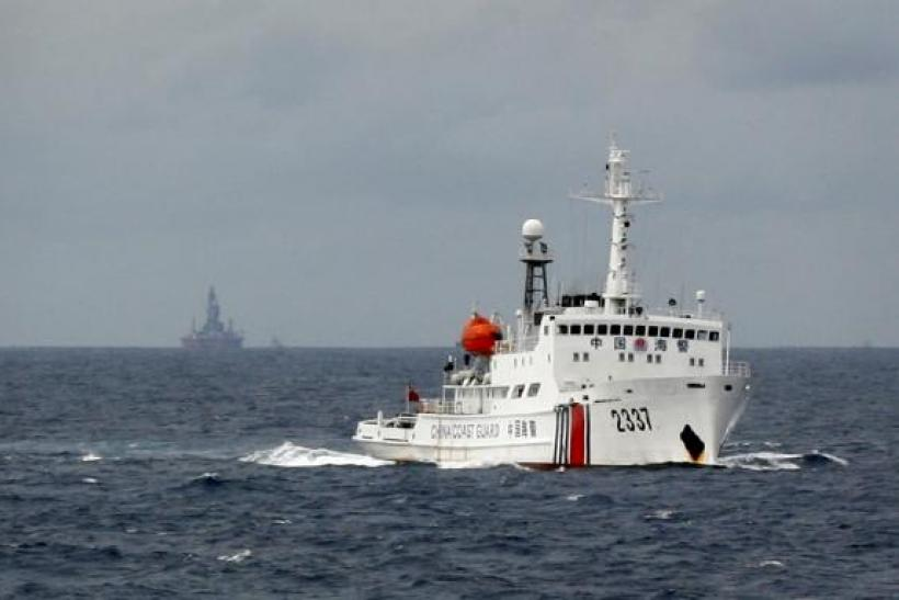 China Coast Guard Vessel