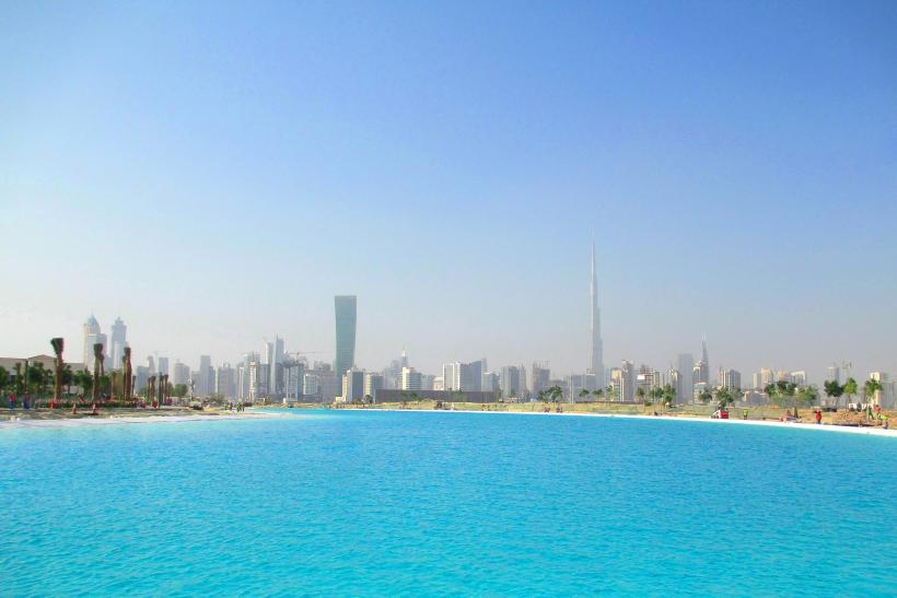 in dubai a 90 acre swimming pool is the next big thing in real