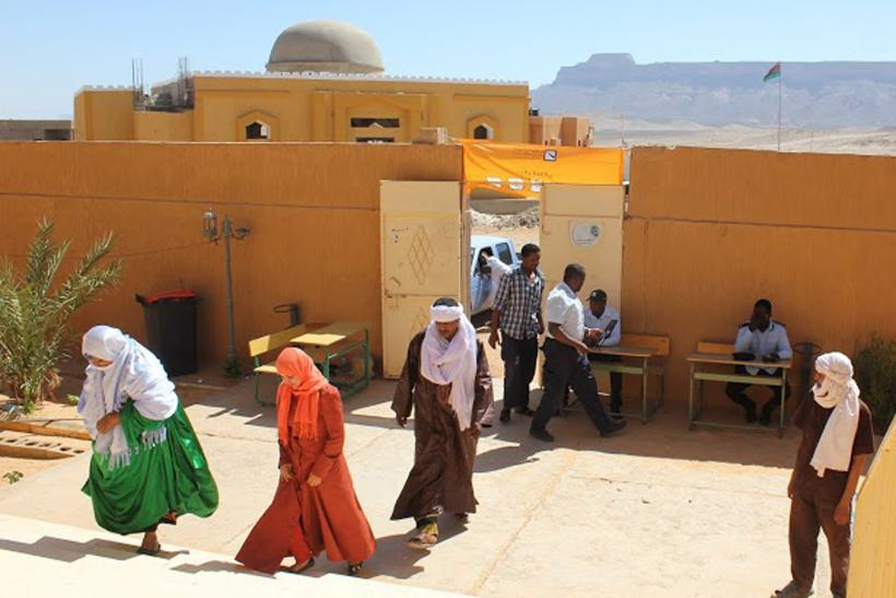 Libyans vote in parliamentary elections