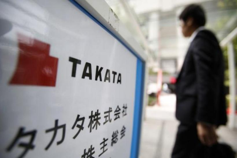 Takata, air bag maker