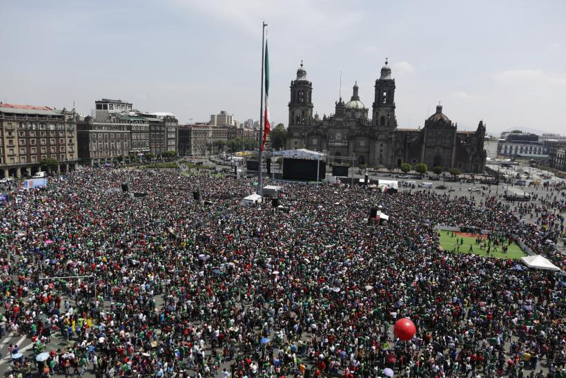 World Cup Public Viewing Event In Mexico