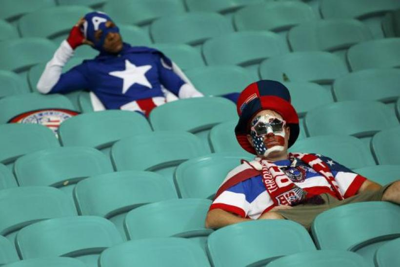 US World Cup fans