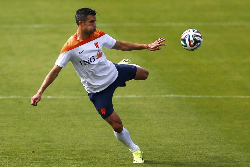 Robin van Persie Netherlands World Cup 2014