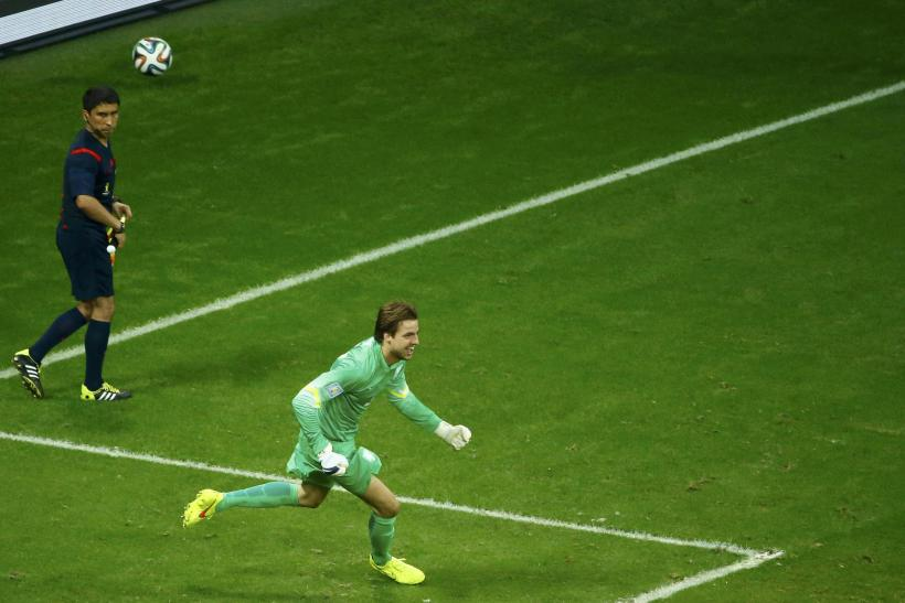 Tim Krul Netherlands WC 2014