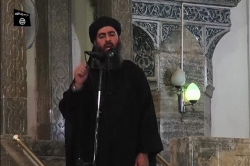 Al-Baghdadi Video Still