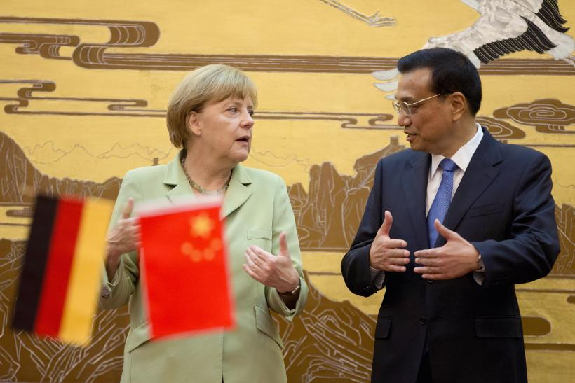 Angela Merkel China visit