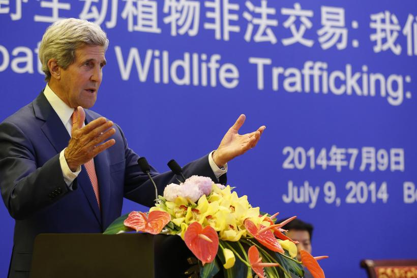 John Kerry Beijing Summit