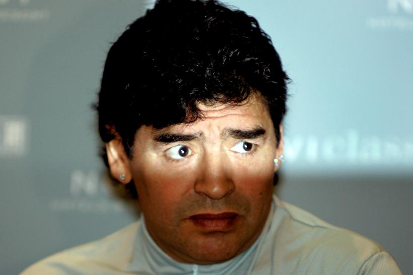 Diego Maradona_June 2005