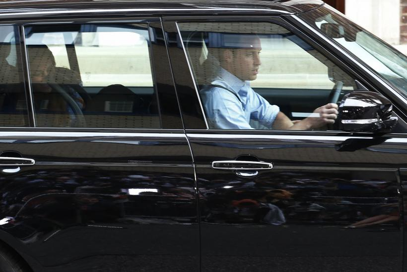Prince William driving new family home