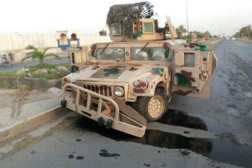 Iraqi vehicle -- Tikrit