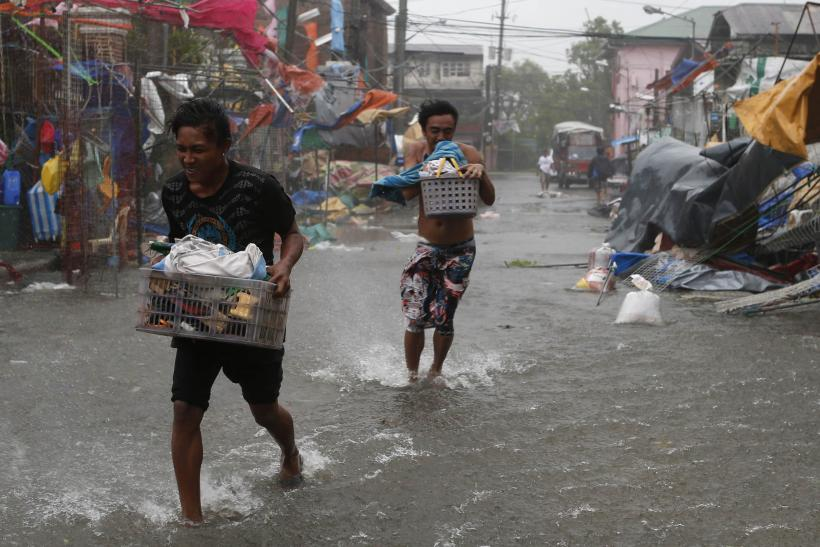 Typhoon Rammasun in Phlippines