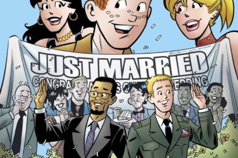 Archie Gay Wedding Issue