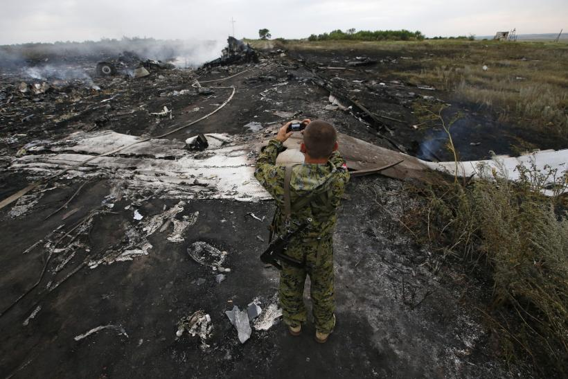 MH17 Crash Scene
