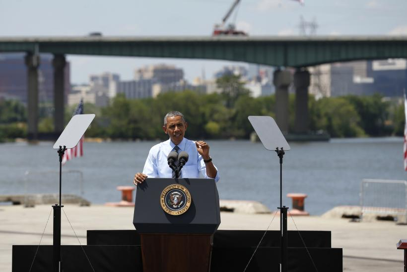 President Obama Discusses Transportation Funding