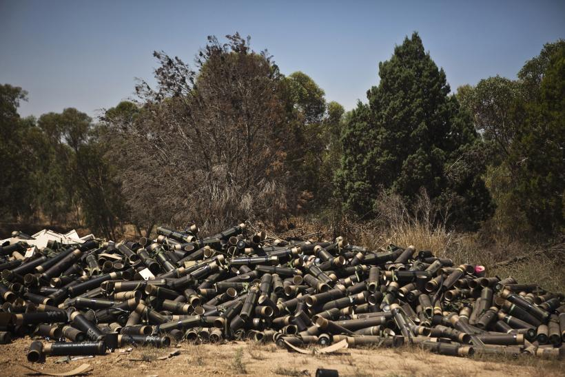 Gaza Strip mortar cases