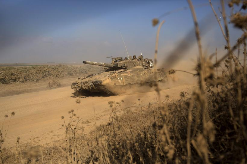 Israel-Gaza Border-July 27, 2014