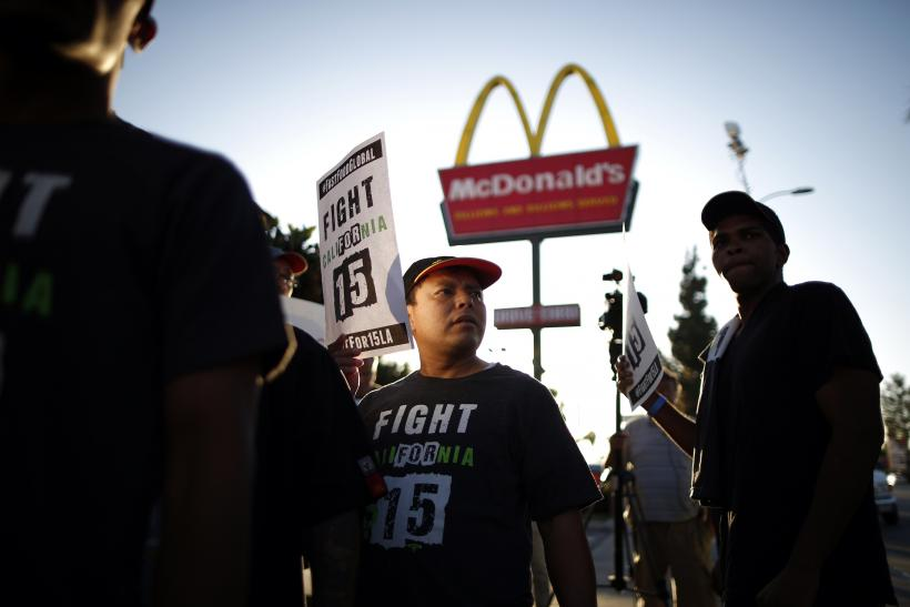 Fast-food strikes