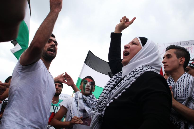 Protests against Gaza violence_Sofia