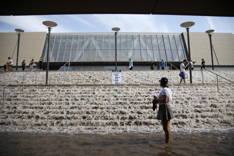 UCLA Campus Flooded With Millions Of Gallons Of Water As 93