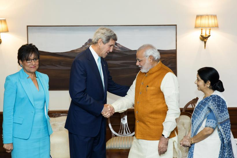 Kerry in India_Aug2014