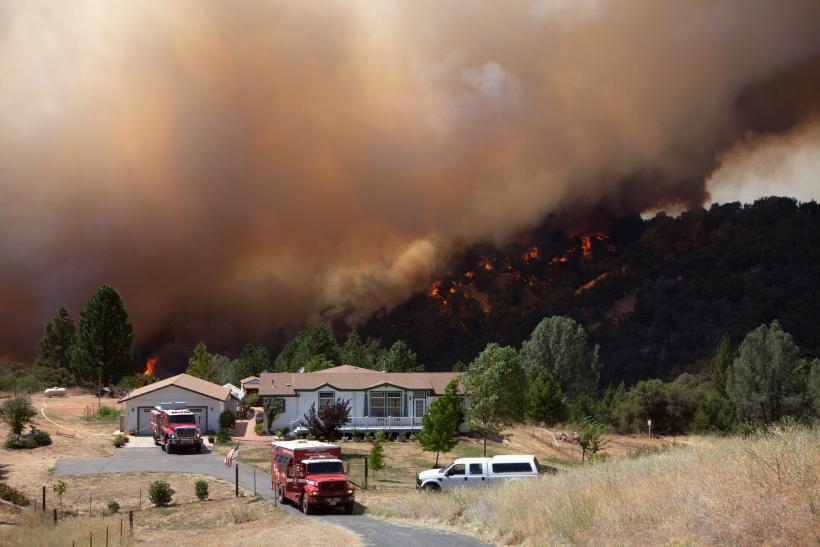 California Wildfire July 2014