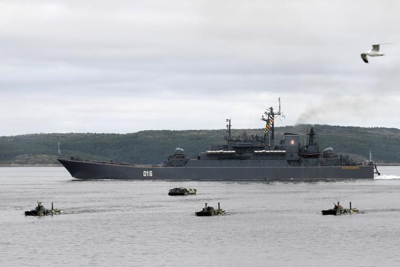Russian Navy Barents Sea