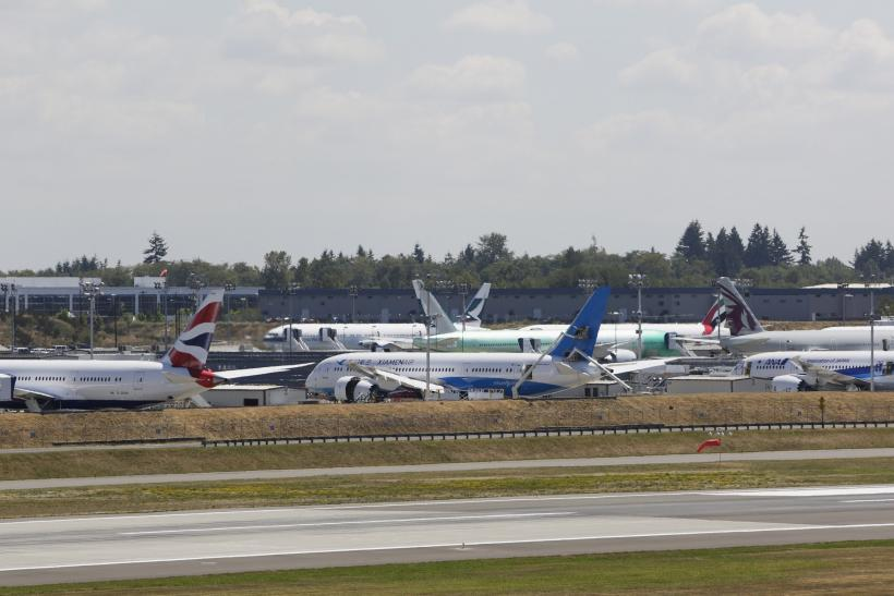 Boeing 787 Dreamliners-Aug. 7, 2014