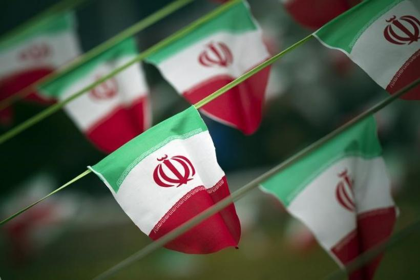 Iran's Flag-Feb. 10, 2012