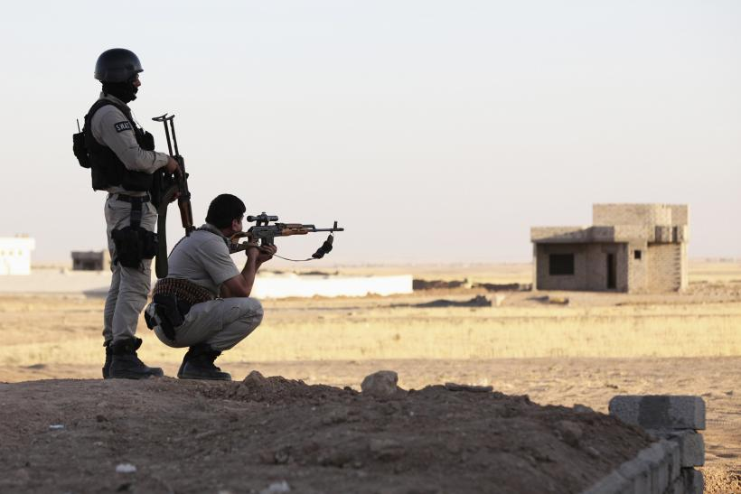 Kurdish peshmerga in Iraq