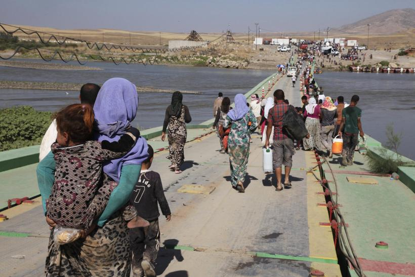 Yazidi people displaced, Iraq
