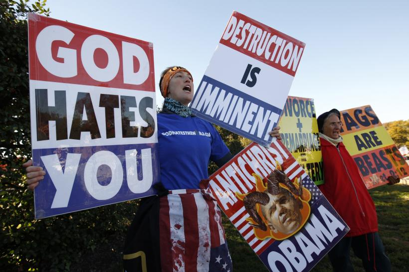 Westboro Baptist Church Arlington