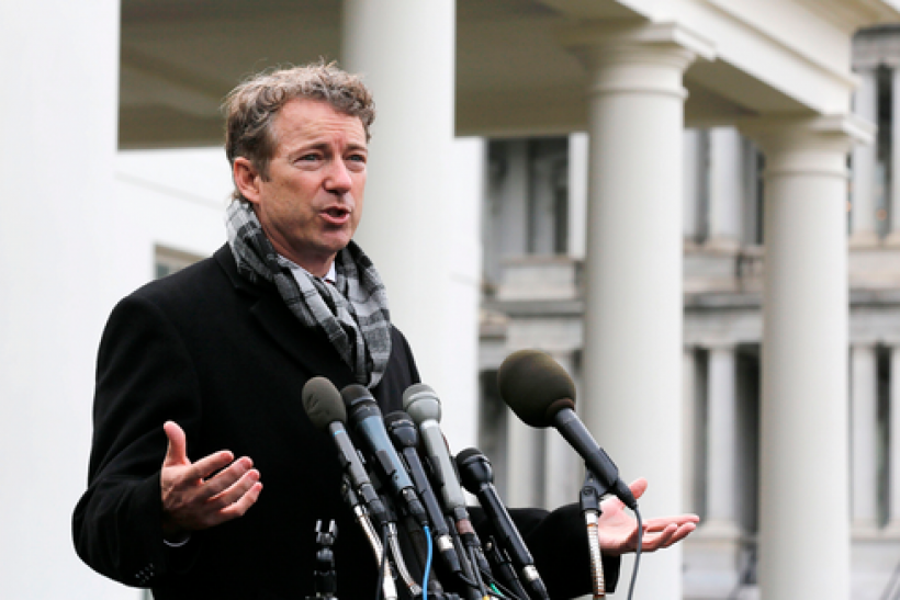 Where Rand Pauls Small Government Credo >> The Rand Paul Ferguson Time Article And The Senator S 2010 Speech