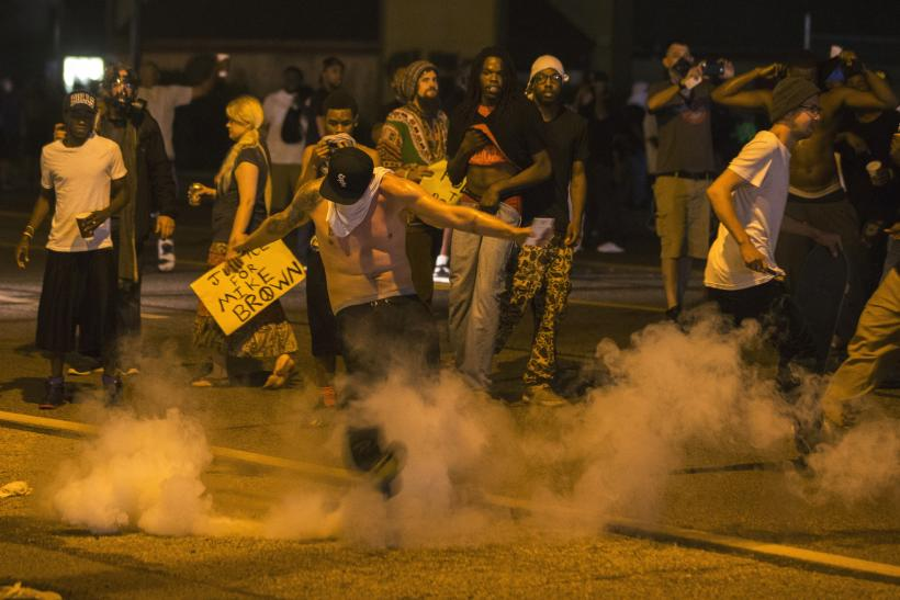 Ferguson protests Sunday