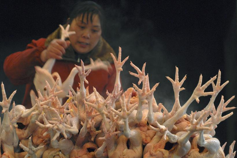 chicken meat scandal china