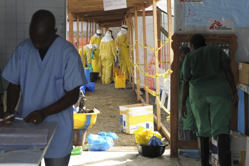 MSF workers in Monrovia