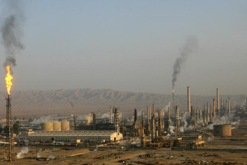 Baiji Oil Refinery Iraq ISIS