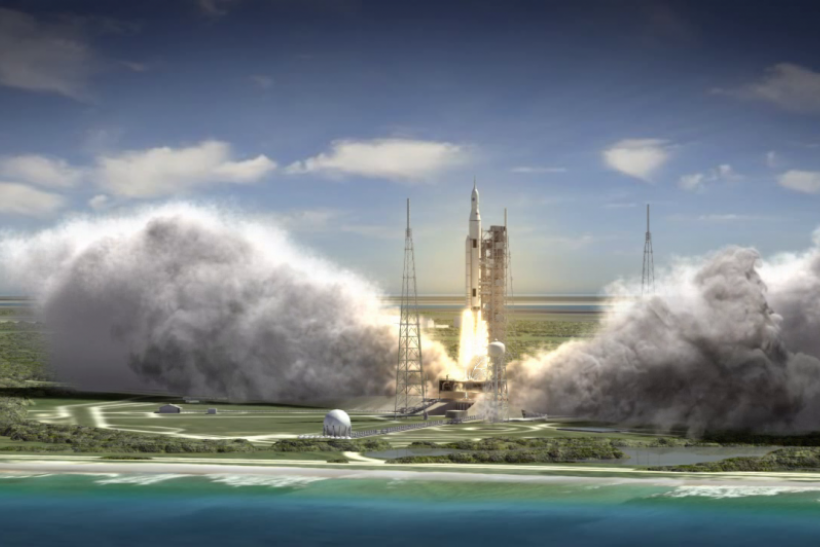 NASA mulling plan to add crew to SLS' debut launch