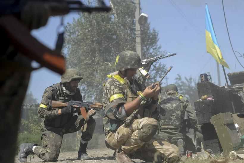 Ukraine military fighting rebels