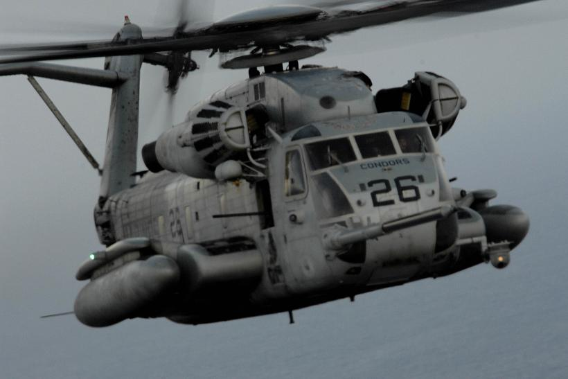 U.S. Marine Corps CH-53 Sea Stallion Helicopter