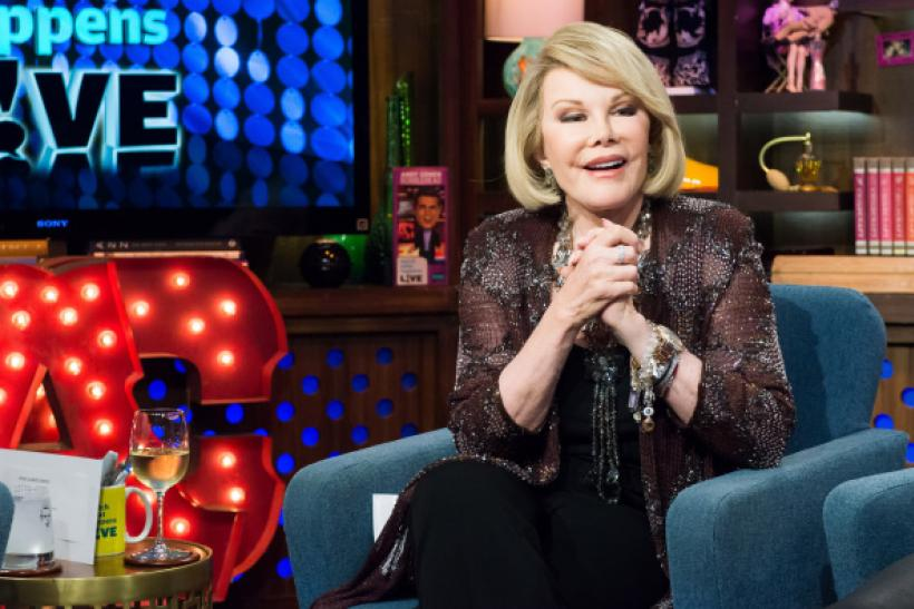 Joan Rivers on Watch What Happens Live