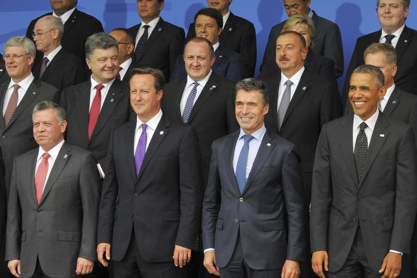 NATO Leaders Come Together in Cardiff, Wales.