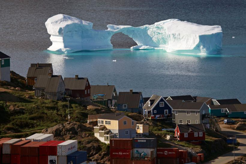 Iceberg Greenland Global Warming