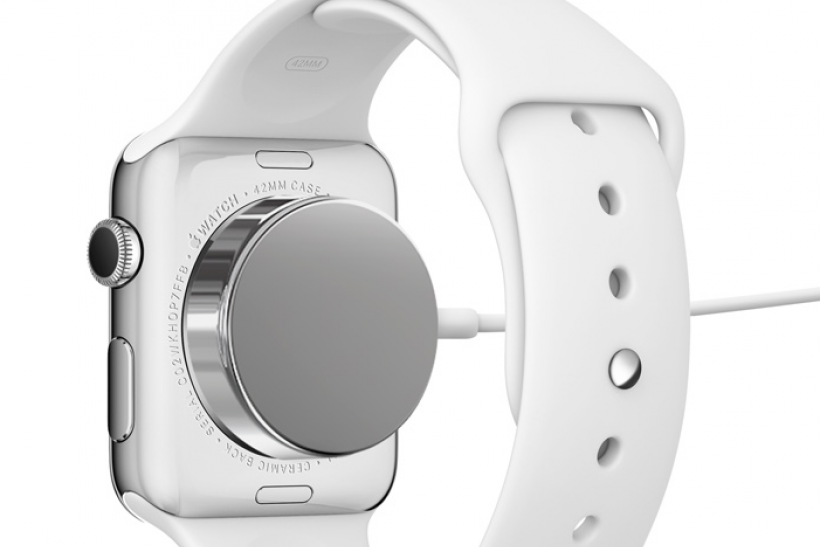 Image result for apple smart watch wireless charging