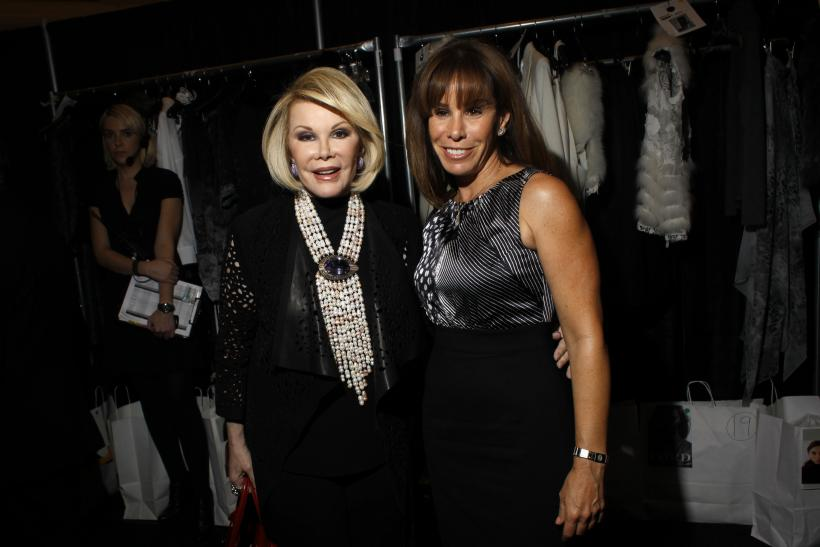 Joan Rivers with daughter