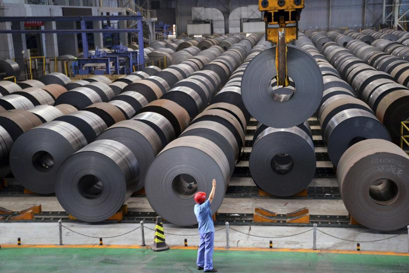 China August 2014 Factory Output Growth
